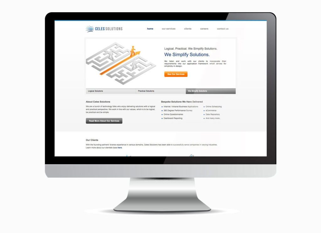 Celes Solutions Homepage