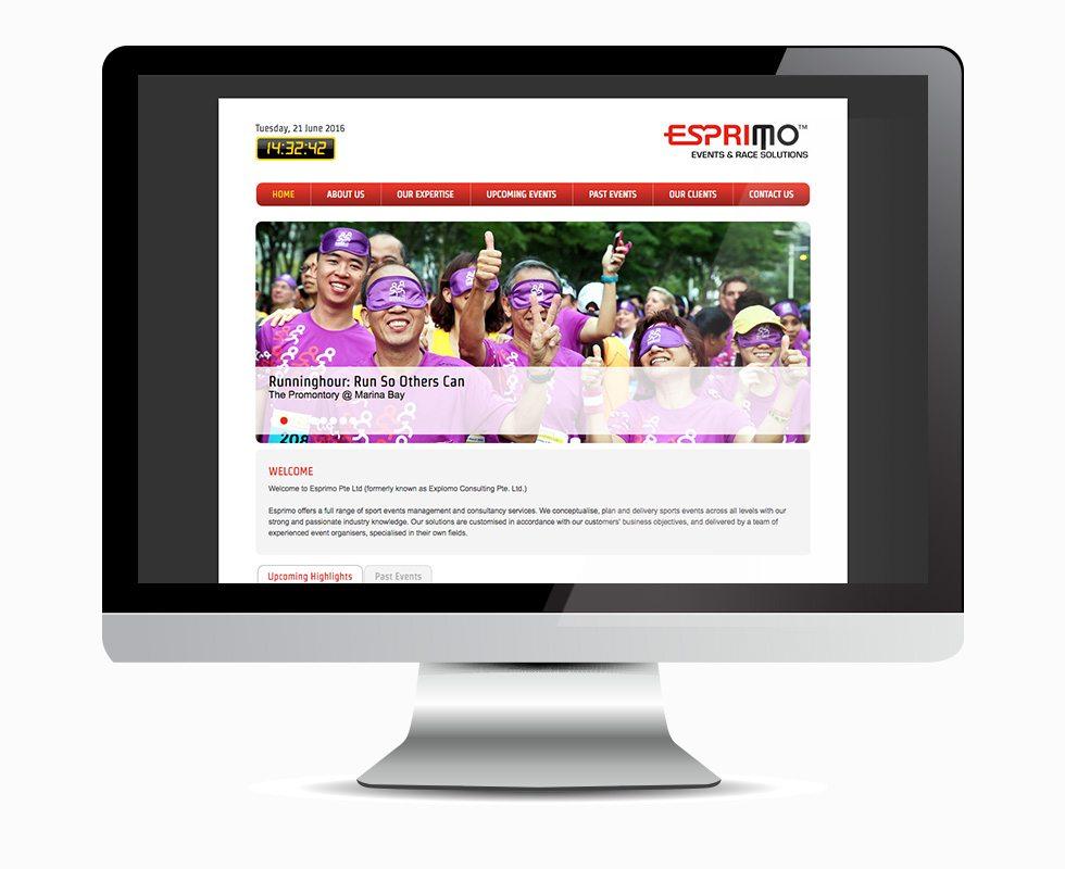 Esprimo Homepage