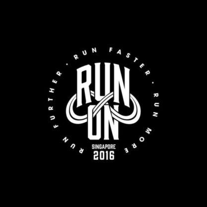 New Balance Run On Logo