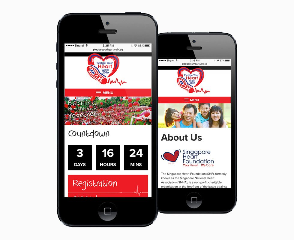 Pledge Your Heart Mobile