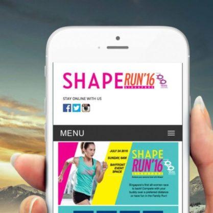 Shape Run Mobile