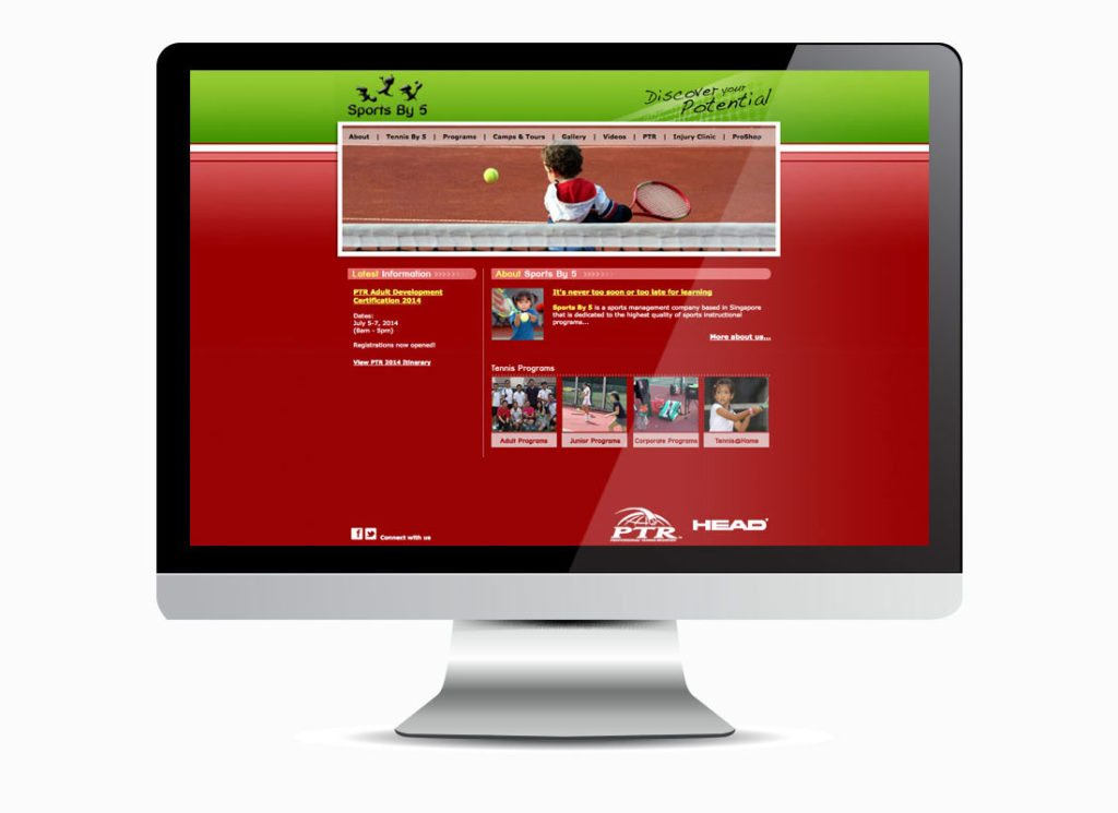 Sports By 5 Homepage