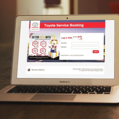 Toyota Service Booking Revamp