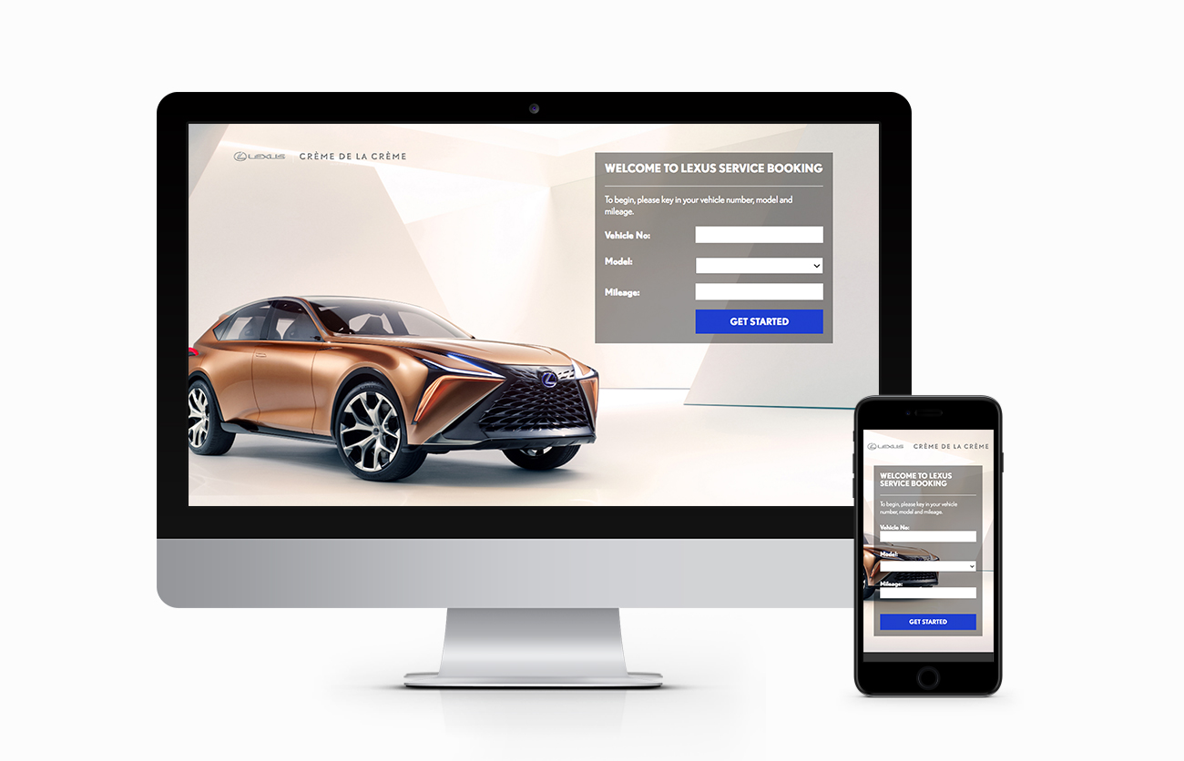 Lexus Service Booking