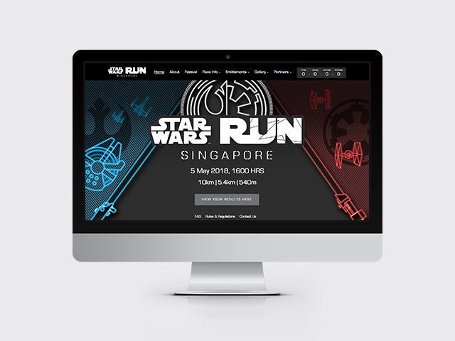 STAR WARS RUN Gallery
