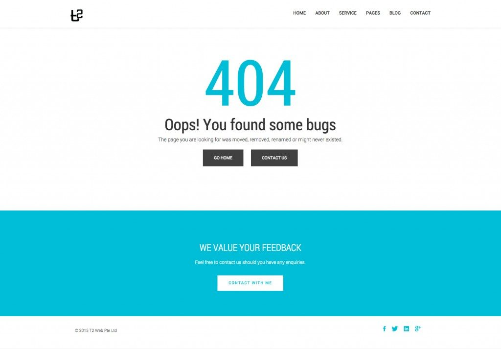 404 with Contact