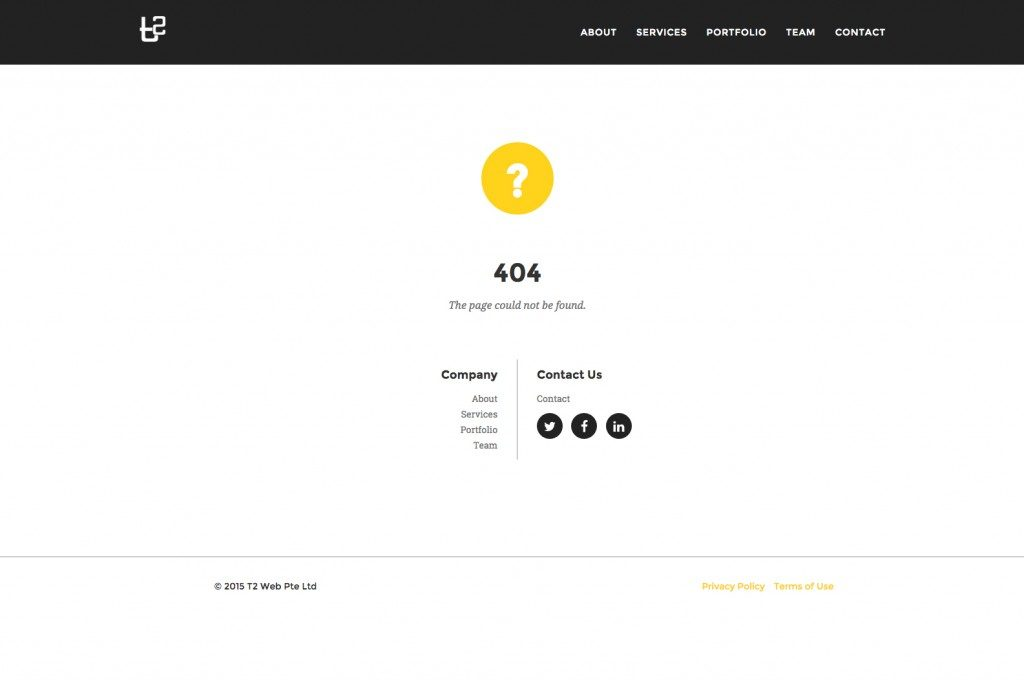 404 with Sitemap