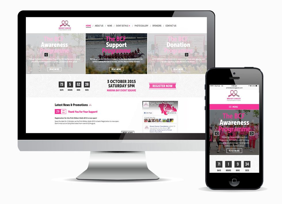 Adaptive Design - Pink Ribbon
