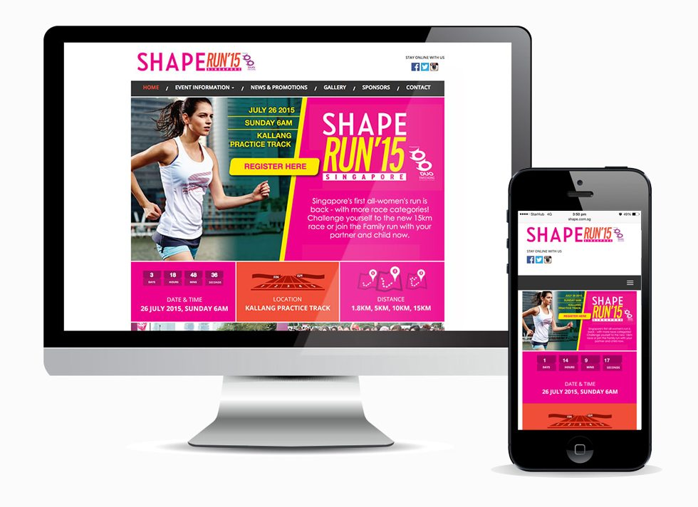 Adaptive Design - Shape Run