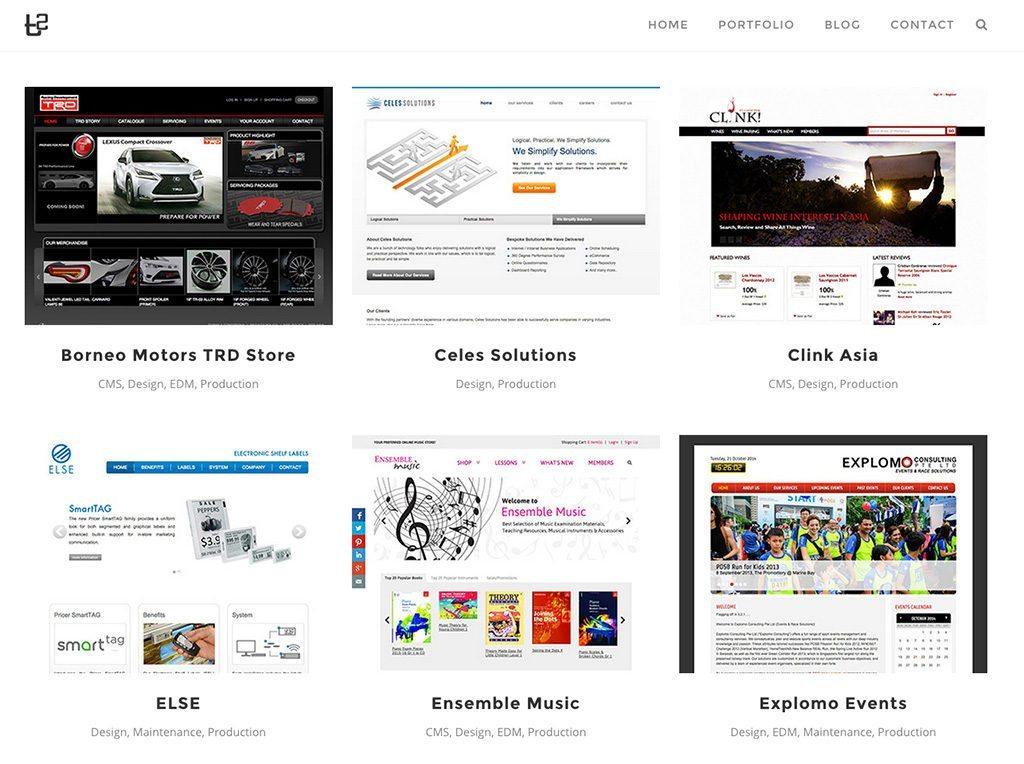 T2 Web Portfolio