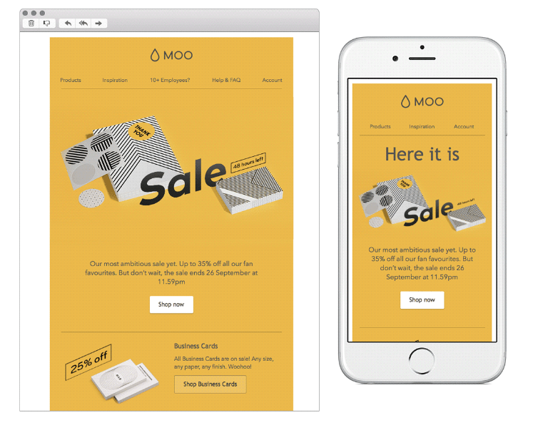 Responsive Email CTA Button