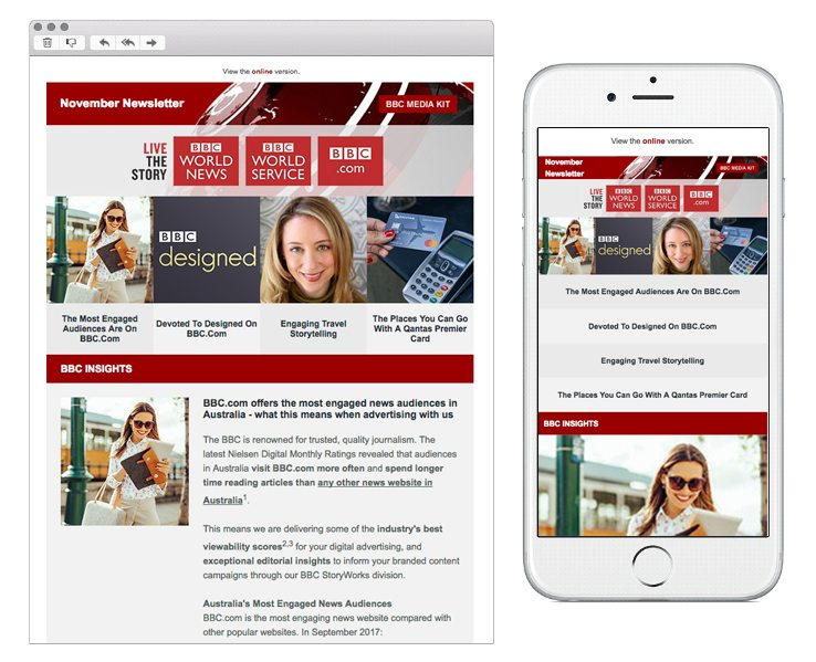 Responsive Email 600px Width
